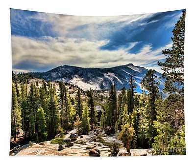 Natures Best Yosemite  Tapestry