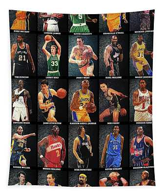 Nba Legends Tapestry