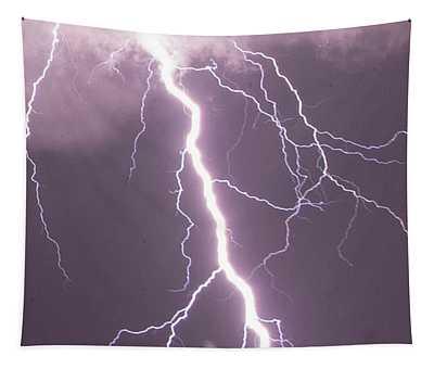 Nebraska Arcus And Lightning 046 Tapestry