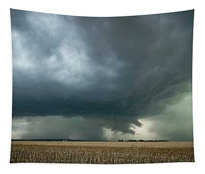 Nebraska Storm Tapestry