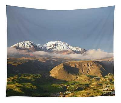 Nevados De Putre Volcano Chile Tapestry