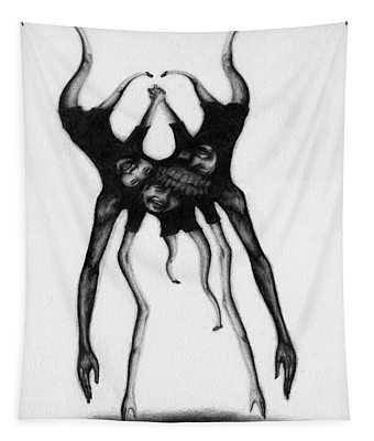 Never Letting Go... - Artwork Tapestry
