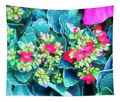 New Blooms Tapestry