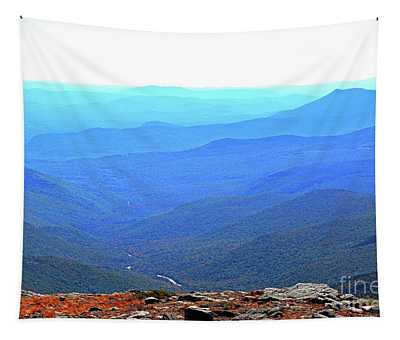Tapestry featuring the photograph New Hampshire High Point by Patti Whitten