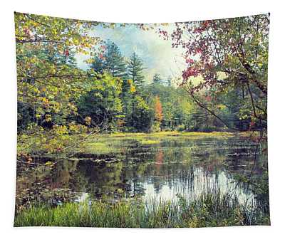 New Hampshire Marsh Tapestry