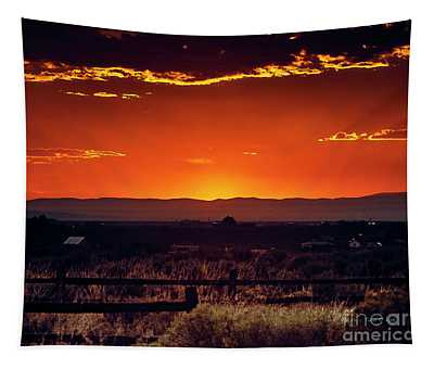 New Mexico Sunset Tapestry