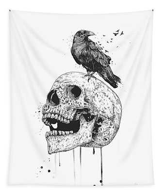 New Skull Tapestry
