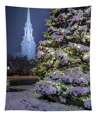 New Snow For Christmas Tapestry