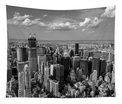 New York City Empire State Building Tapestry
