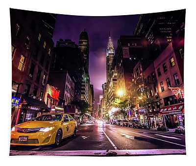 New York City Street Tapestry