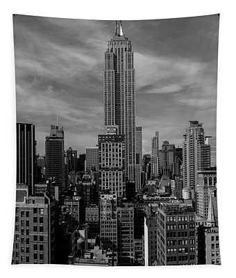 New York, New York, Usa - Empire State Tapestry