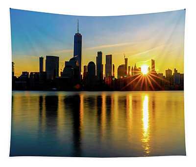 New York Sunrise Tapestry