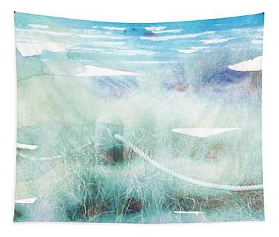 New Zealand Beachscape Tapestry