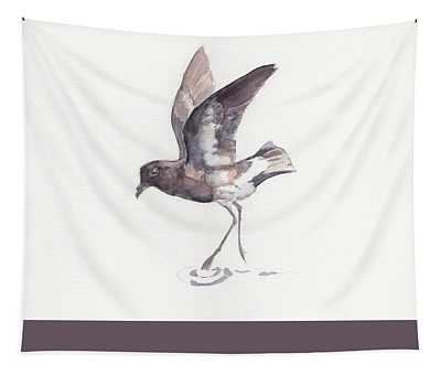 New Zealand Storm Petrel Tapestry