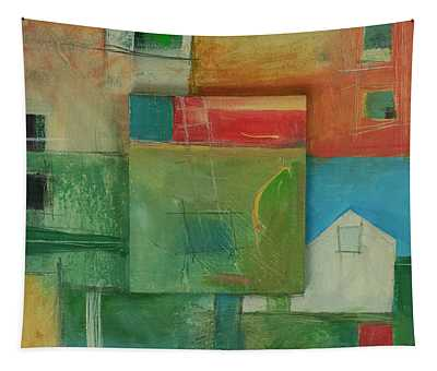 New Home Abstract Tapestry