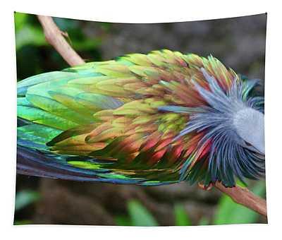 Nicobar Pigeon Tapestry