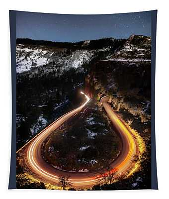 Night At Rowena Crest Tapestry