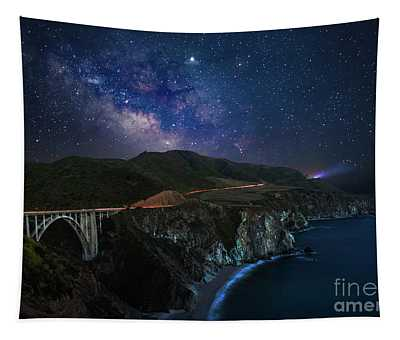 Night Drive Tapestry