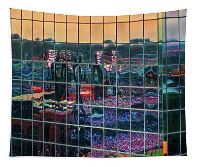 Night Game Tapestry
