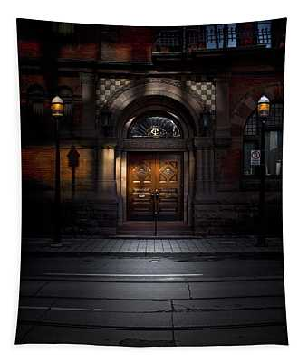 No 107 Wellington St W Toronto Canada Color Version Tapestry