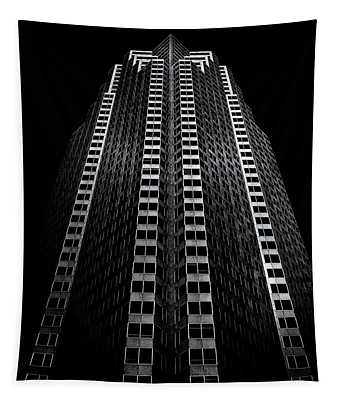 Tapestry featuring the photograph No 161 Bay St Toronto Canada 1 by Brian Carson