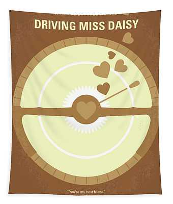 No1004 My Driving Miss Daisy Minimal Movie Poster Tapestry