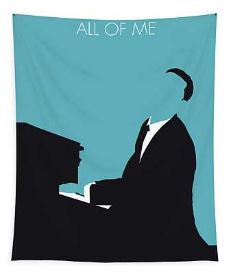 No255 My John Legend Minimal Music Poster Tapestry