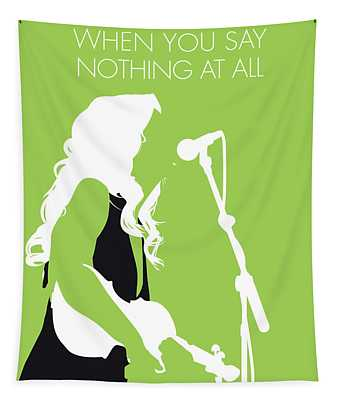 No276 My Alison Krauss Minimal Music Poster Tapestry
