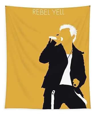 No284 My Billy Idol Minimal Music Poster Tapestry