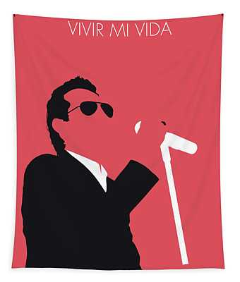 No292 My Marc Anthony Minimal Music Poster Tapestry