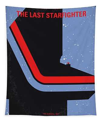 No999 My The Last Starfighter Minimal Movie Poster Tapestry