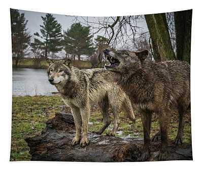 Noisy Wolf Tapestry