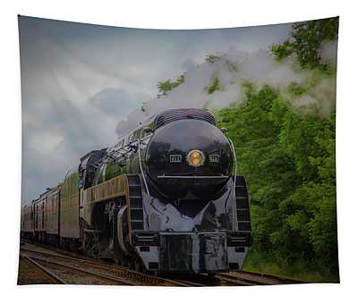 Norfolk And Western 611 Tapestry