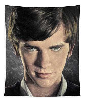 Norman Bates Tapestry