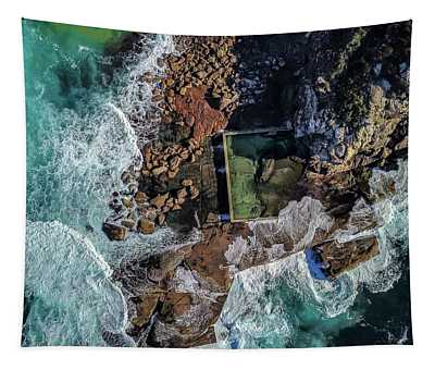 North Curl Curl Headland And Pool Tapestry