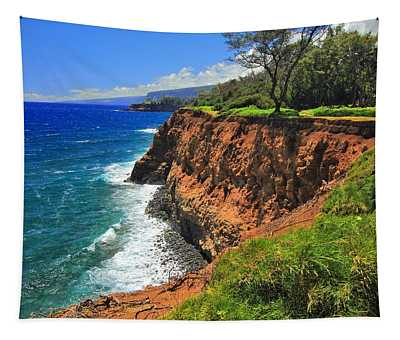 North Hawaii View Tapestry