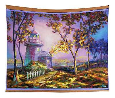 Northeast Autumn Sentinel Tapestry