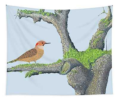 Northern Flicker Tapestry