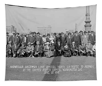 Norwegian-american Line, Special Party Tapestry