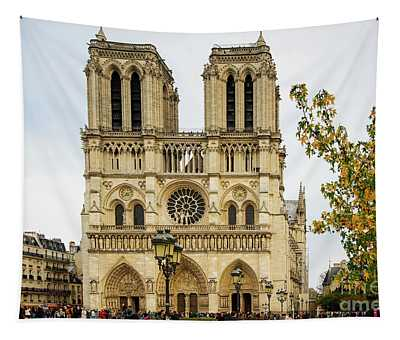 Notre Dame Cathedral Paris France Tapestry