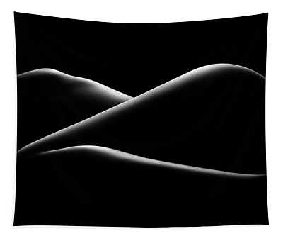 Nude Woman Bodyscape 17 Tapestry
