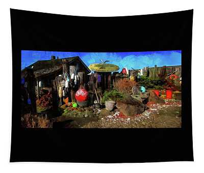 Nye Beach Bums Seaweed Bungalows Tapestry