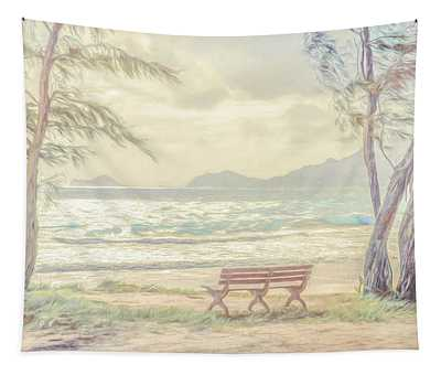 Oahu Morning 69x92 Tapestry