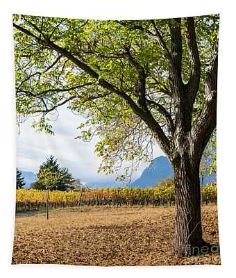 Oak And Grapevines Tapestry