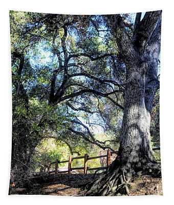 Oak Tree Vasona Park Los Gatos  Tapestry