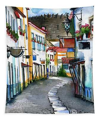 Obidos Wall Tapestries