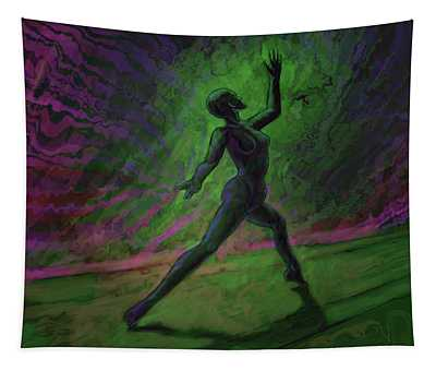 Obscured Dance Tapestry