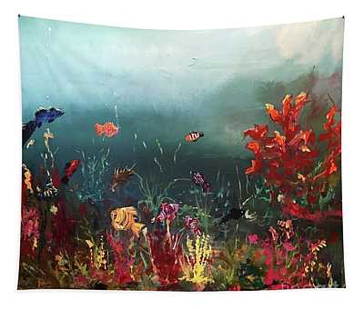 Ocean Beauty Tapestry