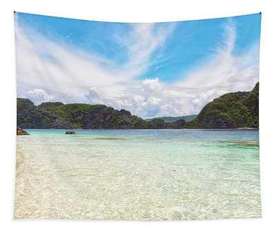 Ocean Bliss Tapestry