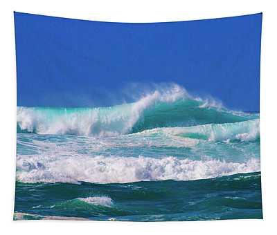 Ocean Blue Tapestry